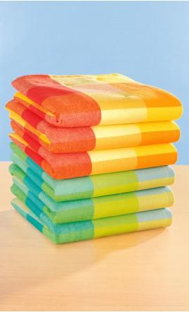 Lot de 6 serviettes de table - RAMY