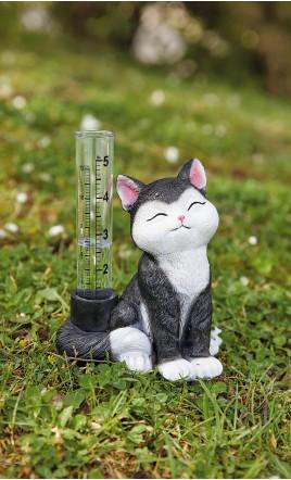 pluviomètre chat - GUINGAMP