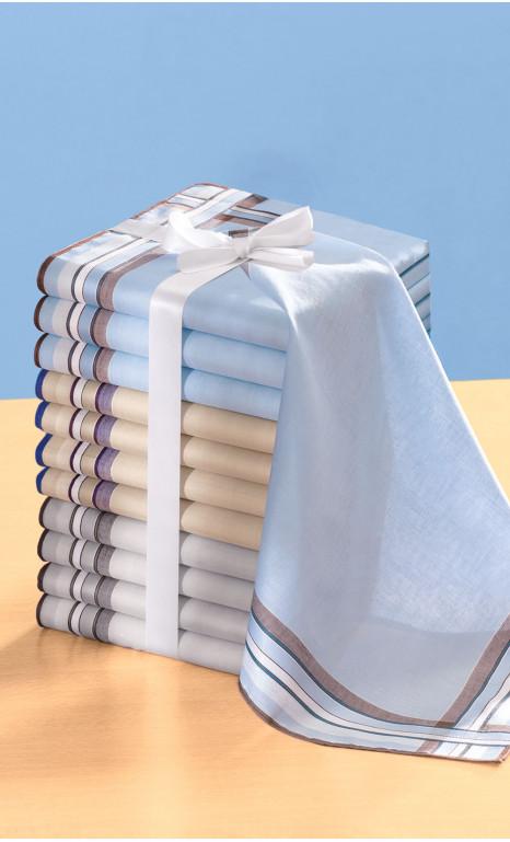 Lot de 12 mouchoirs - REGULIER