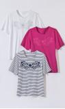 tee-shirt manches courtes - COUPON