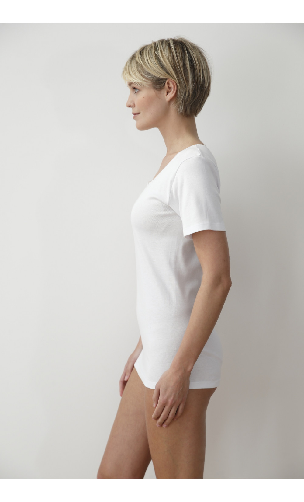 chemise manches courtes - VERDIER