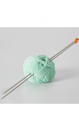 2 aiguilles à tricoter - GARRIGUE