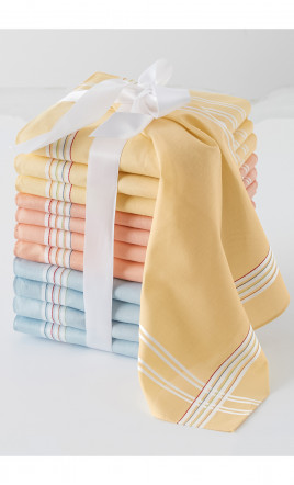 Lot de 12 mouchoirs - RENARD
